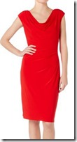 Lauren Ralph Lauren Red Cap Sleeve Dress