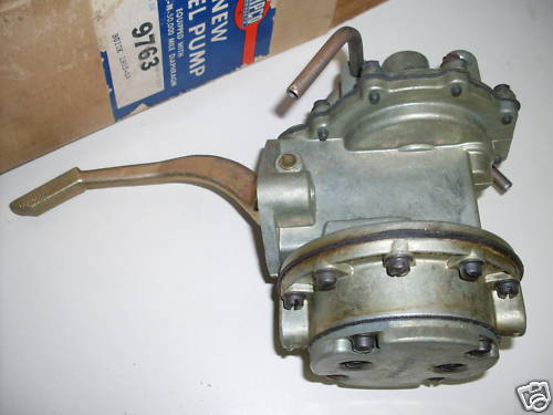 1953-56 264-322 rebuilt fuel pump, 110.00 exchange.