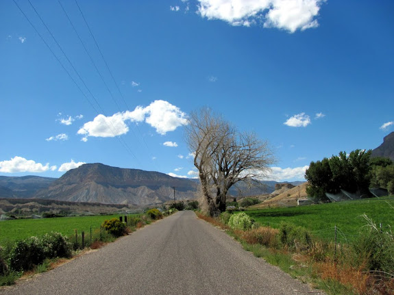 Mill Road in west Ferron