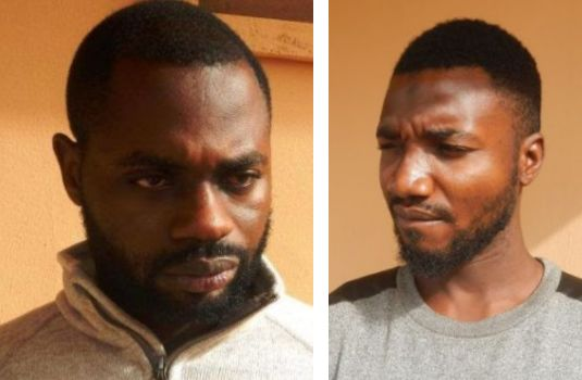 EFCC Nabs 2 Yahoo Boys In Ibadan (Photos)