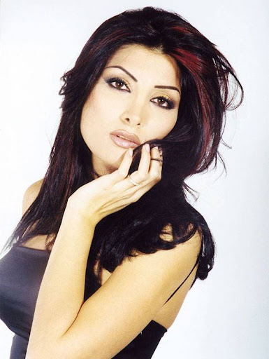 Arab Model Lamia Alhachem real face