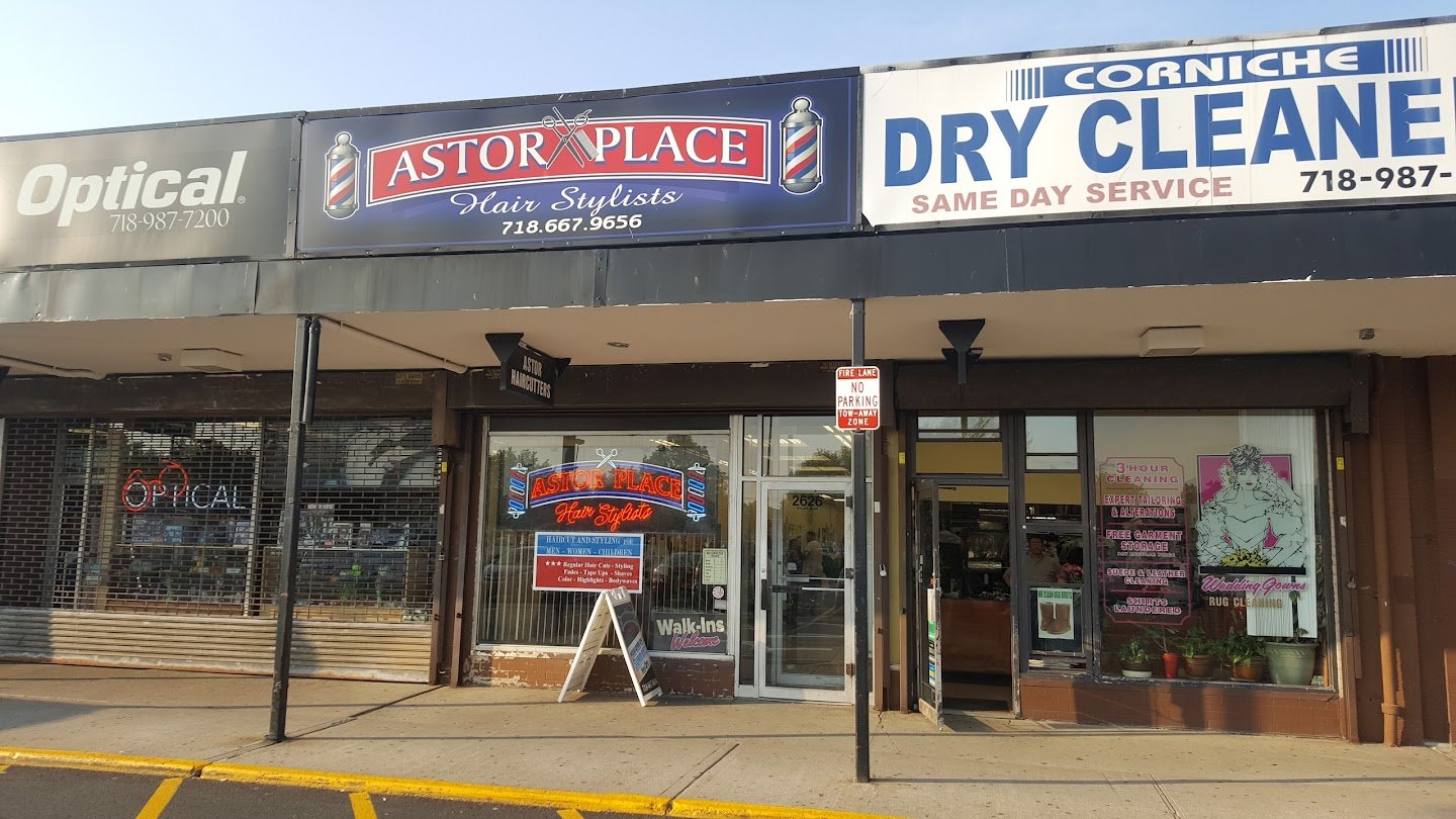 Astor Place Three Barber Shop In Staten Island