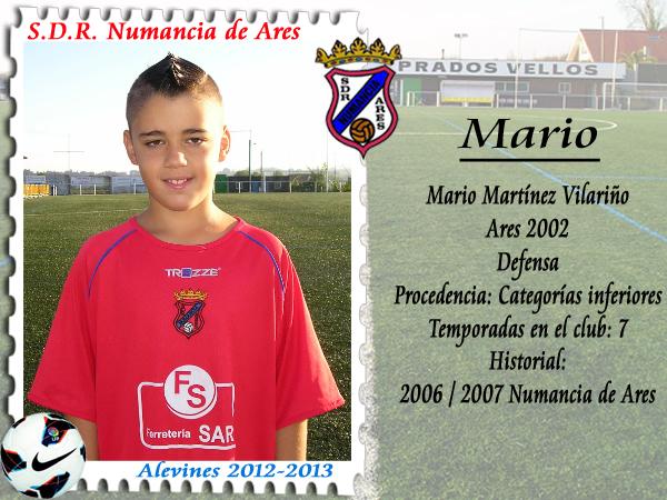 ADR Numancia de Ares. Mario.