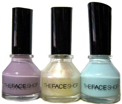 I Got These Nail Polishes From The Face Shop Last Month When Was In Bacolod Them SM City For 95 Php A Little Over 2 Each