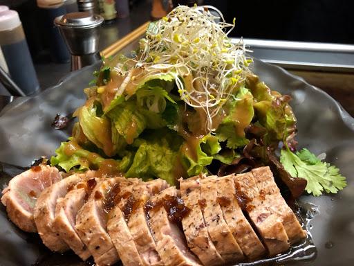 Tuna Tataki with Matsushita sauce was divine.