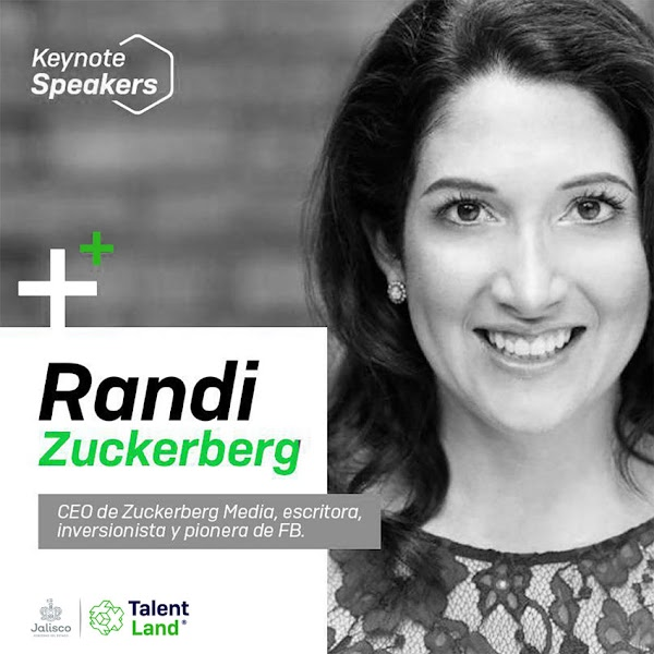 Randi Zuckerberg en Talent Land 2019