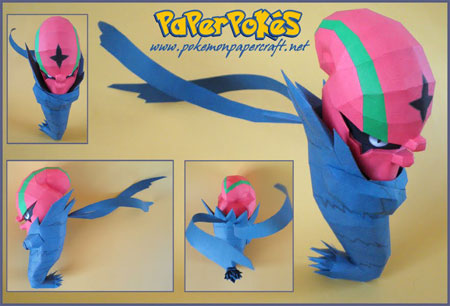 Pokemon Accelgor Papercraft
