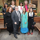 OIC - ENTSIMAGES.COM - Paigey Cakey,Sarah Jane Morris, Kate Smurthaite, Tom Watson, Seema Malhotra, Lynne Franks, Tom Morley, Orsola de Castro  at the One Billion Rising For Justice Photo Call at The House of St Barnabas London 10th February 2015 Photo Mobis Photos/OIC 0203 174 1069
