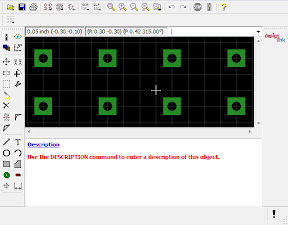 A placeholder Package for an 8-pin IC in Eagle CAD.
