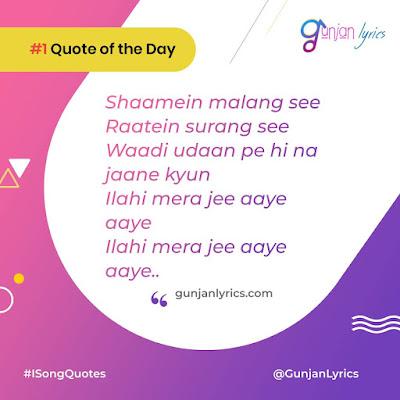 Ilahi Song Lyrics quotes