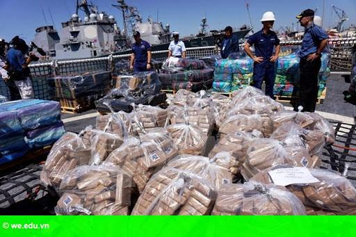 Hình 1: Đặc vụ Italy và Mỹ phá đường dây buôn lậu ma túy quốc tế lớn