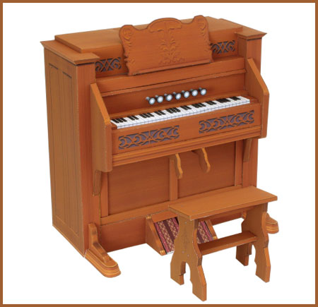 Reed Organ Papercraft