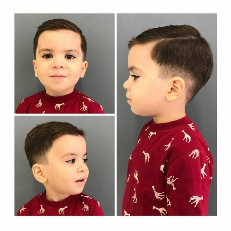 Modern children haircuts 2018-2019 fashionable kids! 1