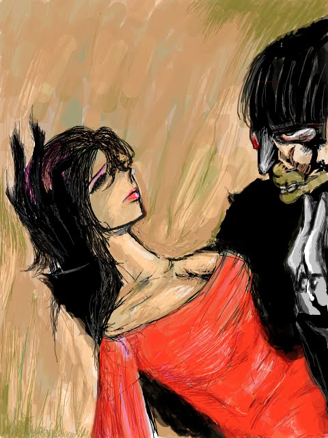 美女と怪人