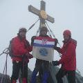 na vrhu Grossglocknera 3798 m.
