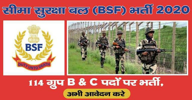 BSF Group B & C Recruitment 2021 Notification OUT, Apply for 220 Paramedical & Veterinary Staff Posts @bsf.gov.in