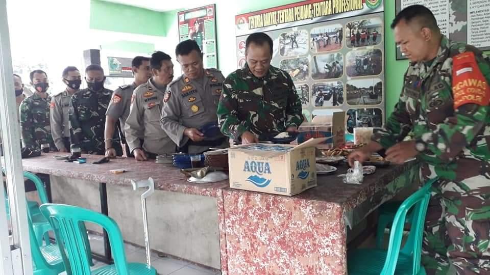 Jalin Sinergitas TNI Polri, Polres Majalengka Polda Jabar  Silaturahmi Dengan Danramil 1709