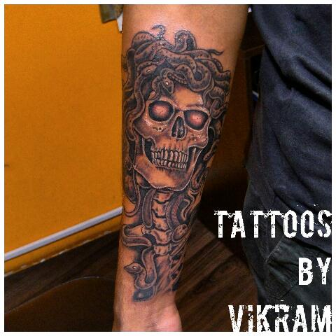 593129053 For more updates follow me on. INSTAGRAM @tattoosbyvikram. Facebook @  Tattoos By Vikram Watsapp. @ 08106415324 #Call for appointment#