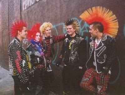 London Punks between 1978 and 1980