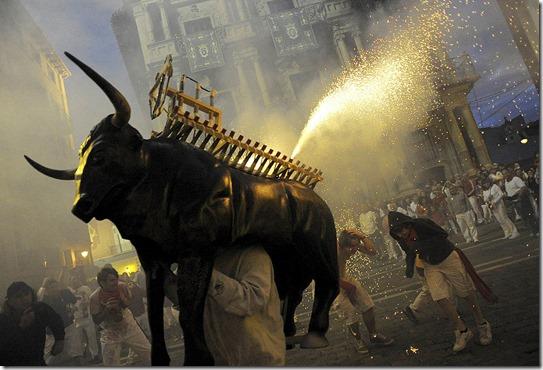 SPAIN SAN FERMIN 2012