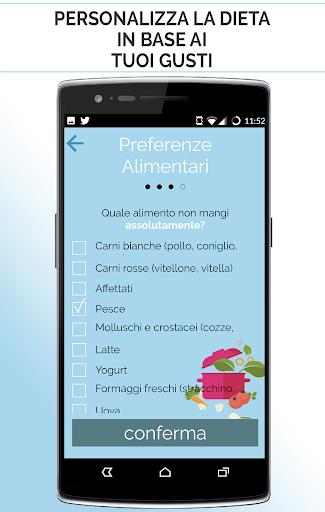 La tua dieta personalizzata screenshot 6