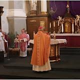 Kanonická vizitace. 9.3.2013. Mše svatá a setkání s farníky