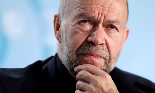 James Hansen in Bonn: he and his fellow NASA researchers first raised the alarm about global warming in the 1980s. Photo: Friedemann Vogel / EPA