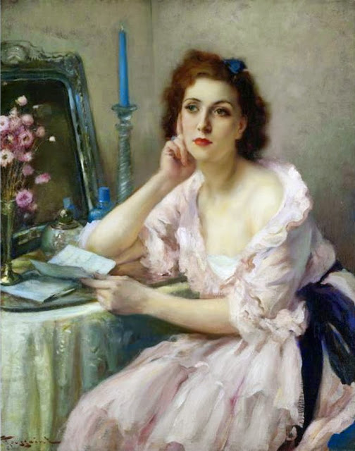 Fernand Toussaint - The Love Letter and  Mirror