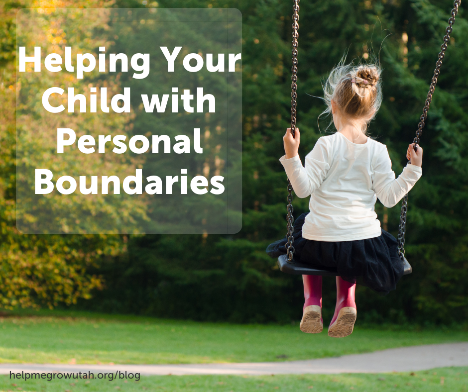 Helping Your Child with Personal Boundaries