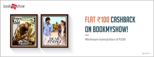 Freecharge Bookmyshow movie lover offer