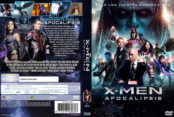 X-Men: Apocalipsis – Castellano, Inglés – DVD9