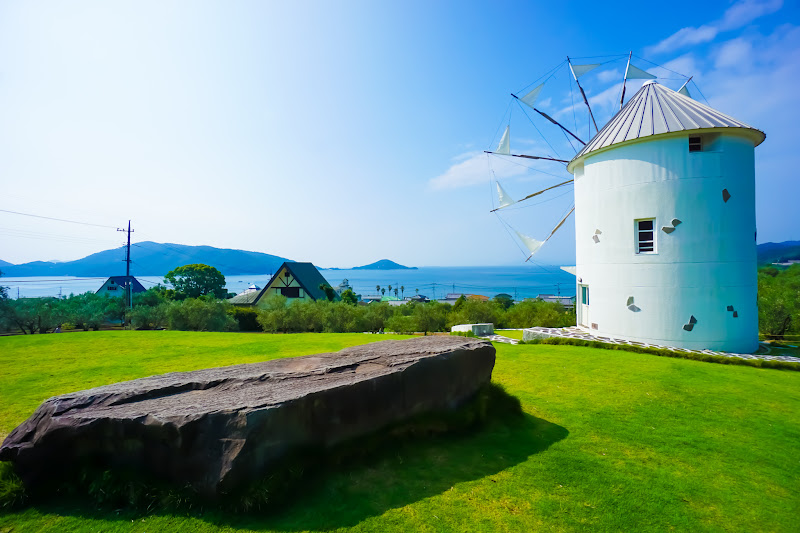 Shodoshima Olive Park, Greek windmill 8