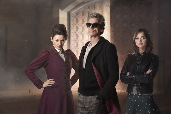 Doctor Who The Magicians Apprentice Missy The Doctor and Clara