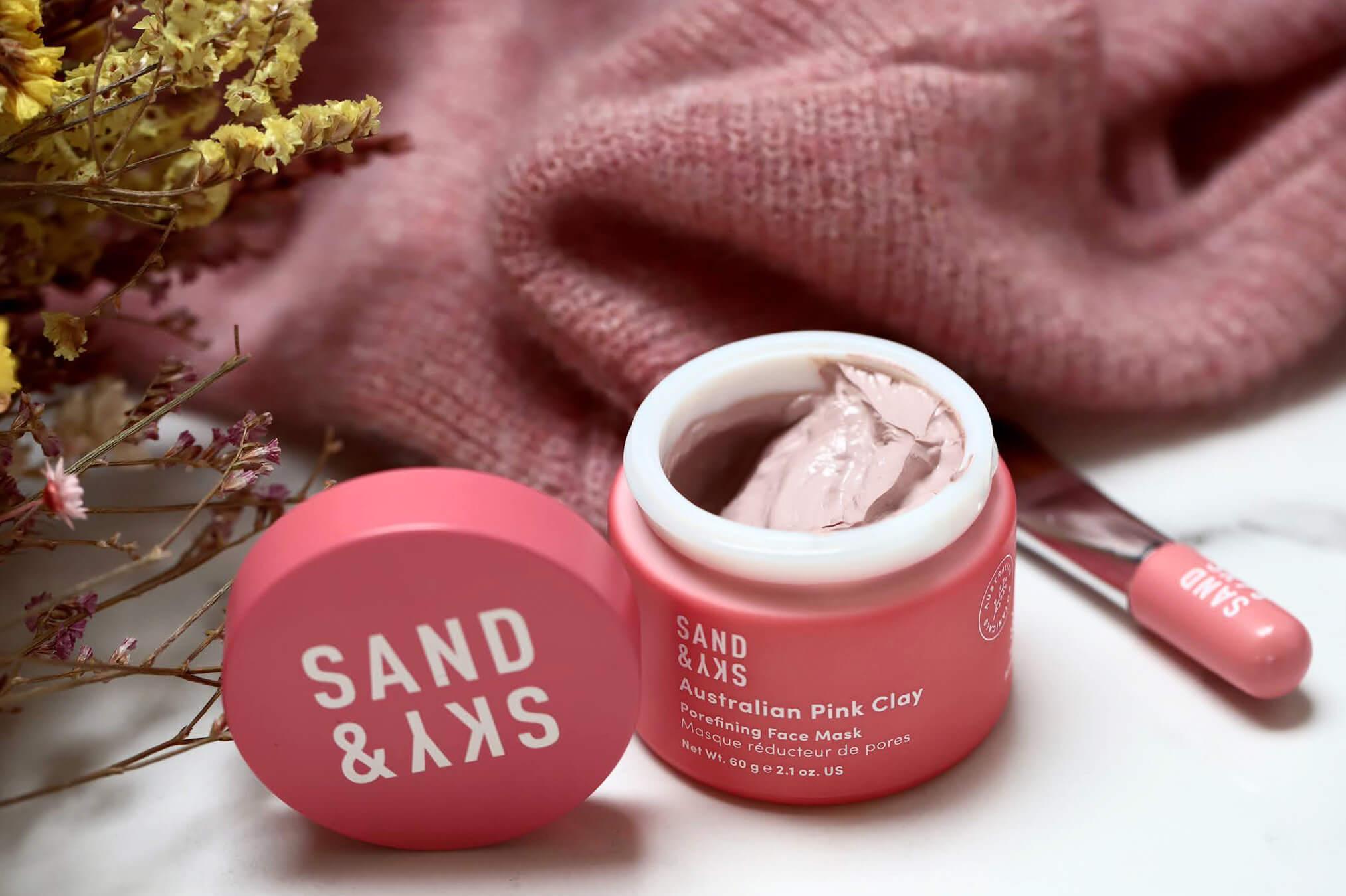 Sand Sky Australian Pink Clay Masque Reducteur de Pores
