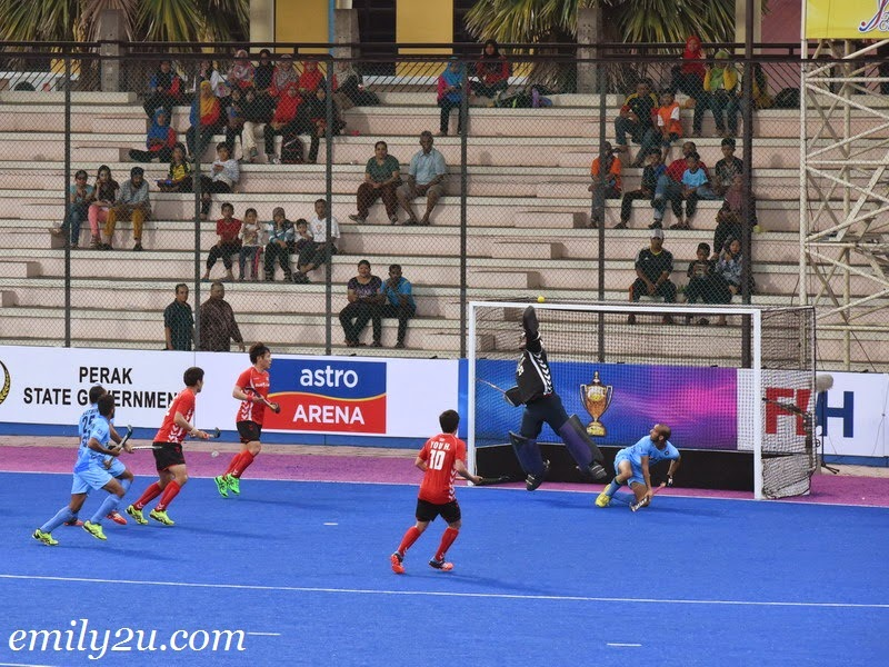 2015 Sultan Azlan Shah Cup – Match 2 – S. Korea (2) - India (2)