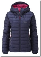 RAB Womens Nebula Hooded Jacket