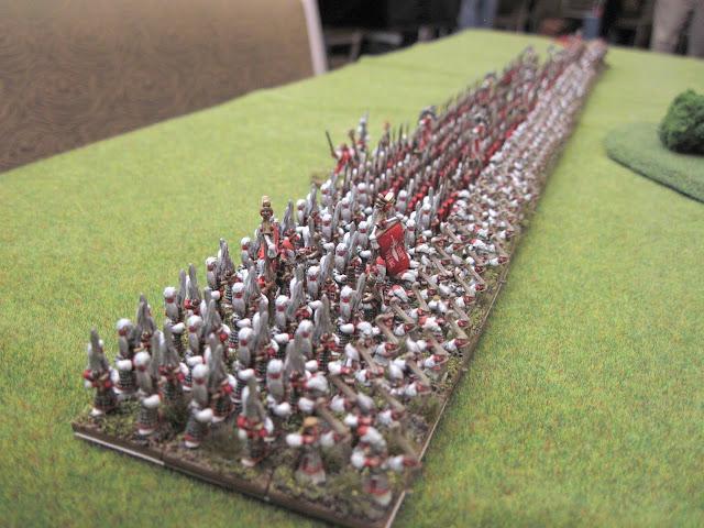 The infantry block.