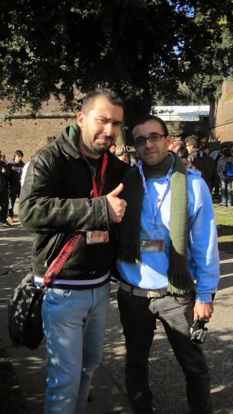 Farenz, incrociato durante il Lucca Comics & Games 2015