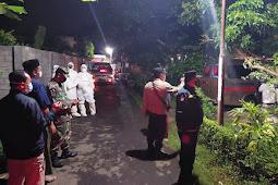 Patroli Gabungan Tiga Pilar Amankan Pemakaman Jenazah Pasien Covid -19