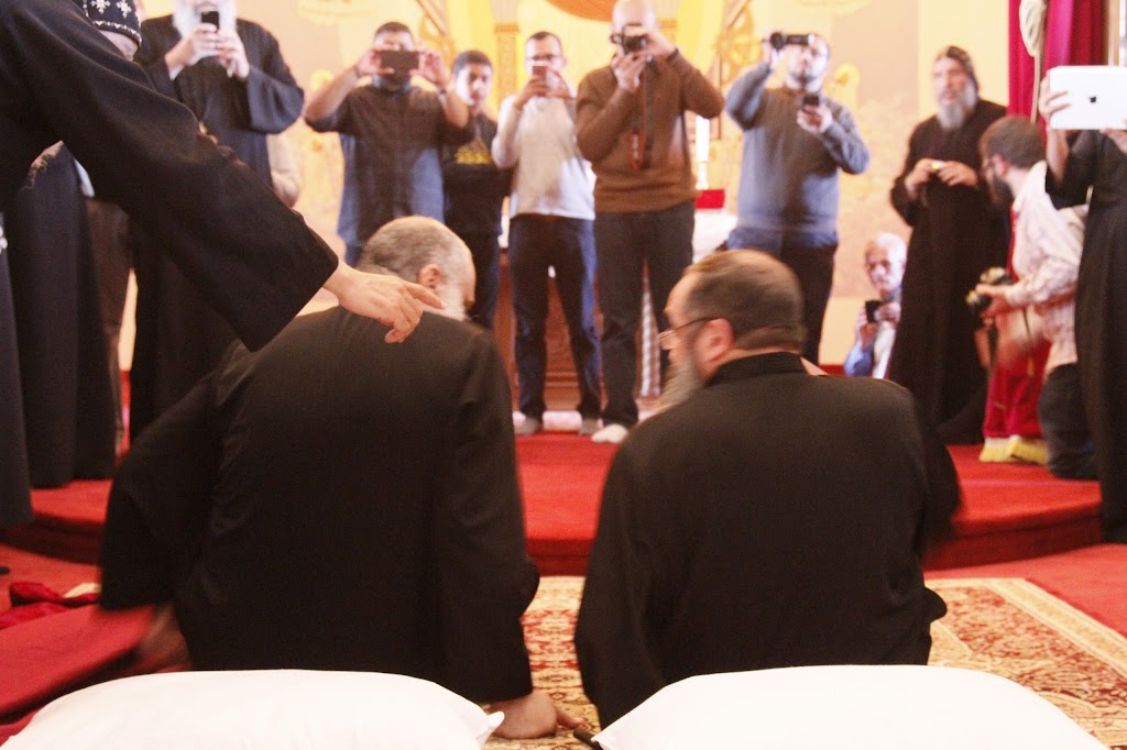 Consecration of Fr. Isaac & Fr. John Paul (monks) @ St Anthony Monastery