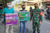 Babinsa Koramil 03 Serengan Surakarta Gencar Sosialisasikan Penerapan dan Edukasi PPMK