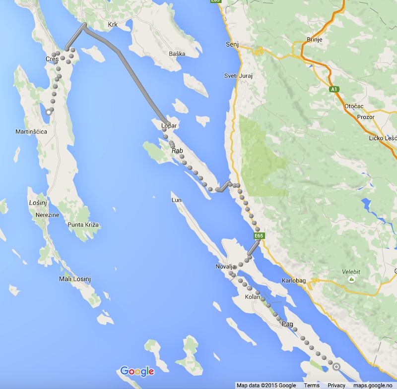 Islandhopping croatia
