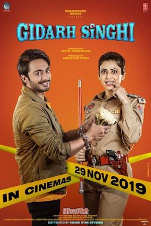 Poster Of Punjabi Movie Gidarh Singhi 2019 Full HD Movie Free Download Watch Online