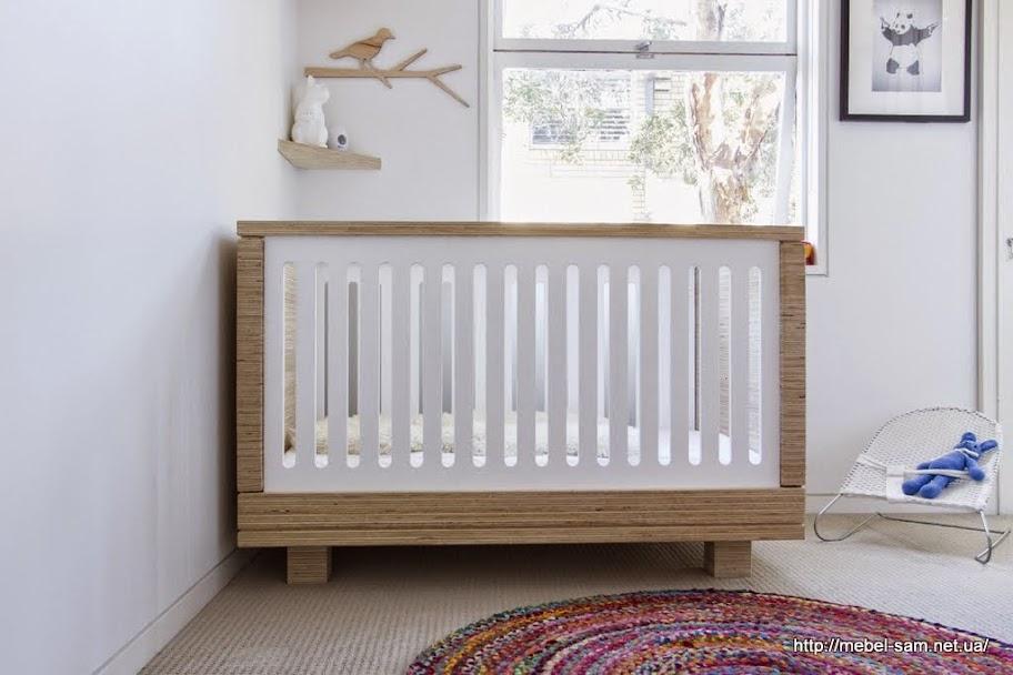 Боковины детской кроватки со сквозными пропилами