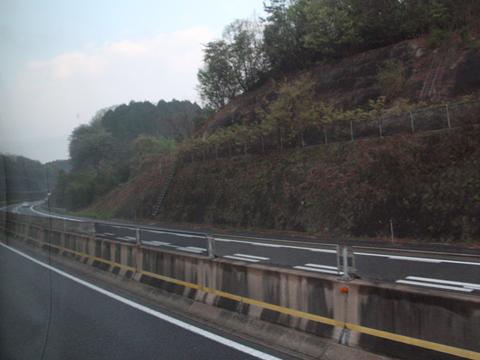 名鉄バス「青葉号」 2701 中央道走行中