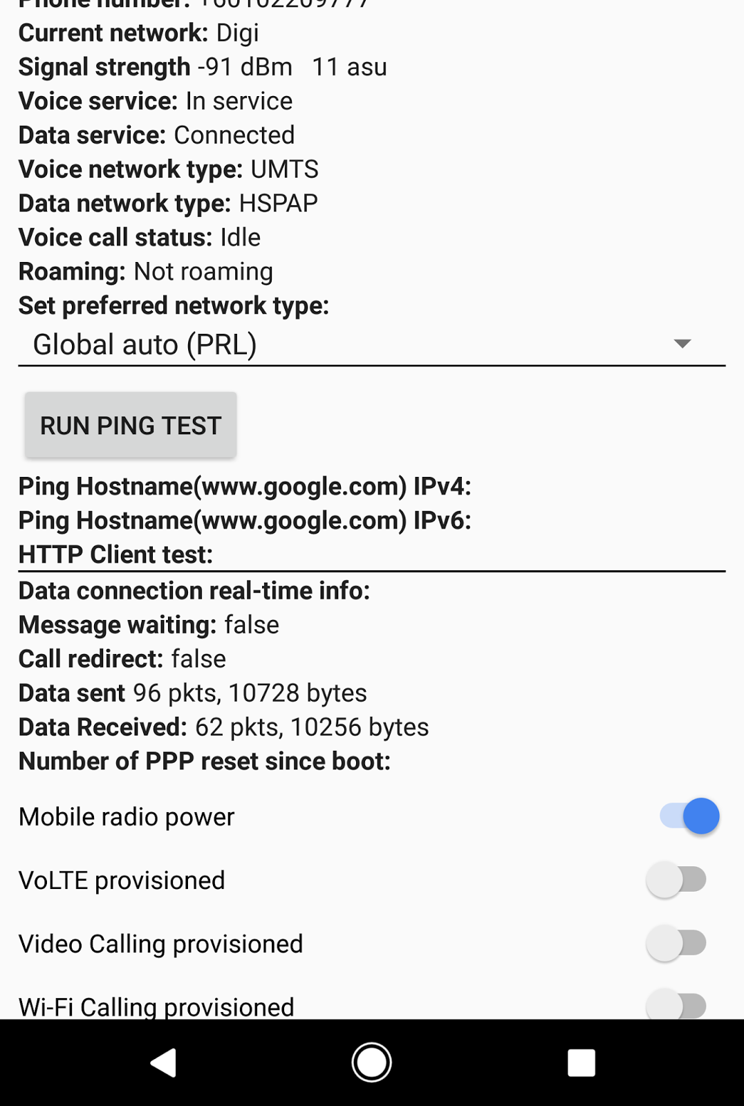Pixel XL no LTE/H+, only H! - Pixel Phone Help