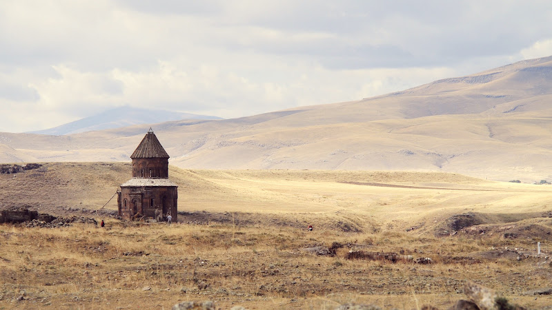 Church of St. Gregory in the middle of the plain of Ani