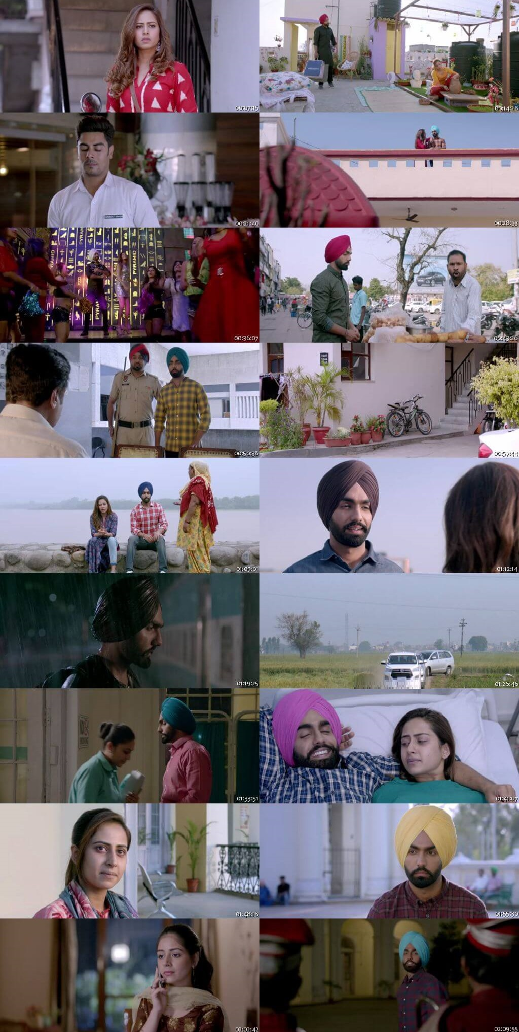 Screen Shot Of Qismat 2018 300MB HDRip 480P Full Punjabi Movie Watch Online Free Download