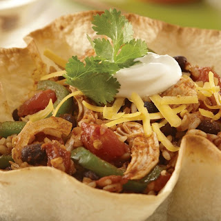 Taco Tortilla Bowl.