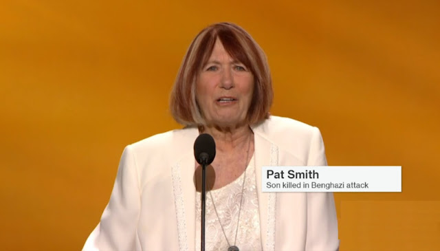 Mother of Benghazi victim says Hillary belongs in prison